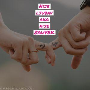 Nije ljubav ako nije zauvek